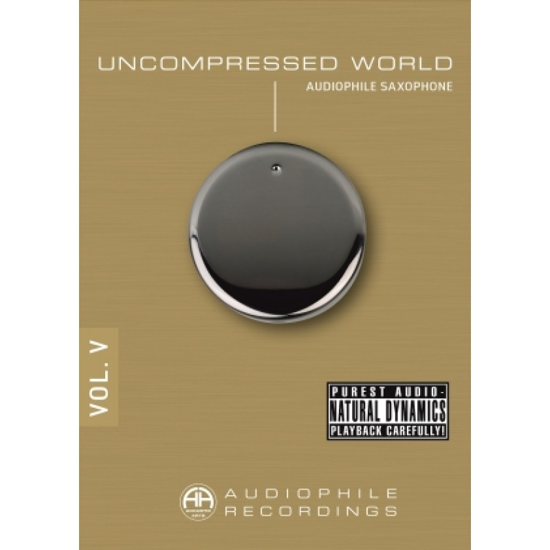 Accustic Arts Uncompressed World Vol. 5 Audiophile CD