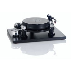 Acoustic Solid Machine Black Turntable