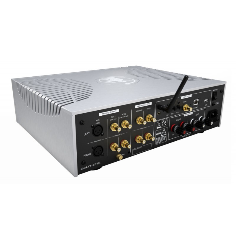 Gold Note IS-1000 Integrated Amplifier Back